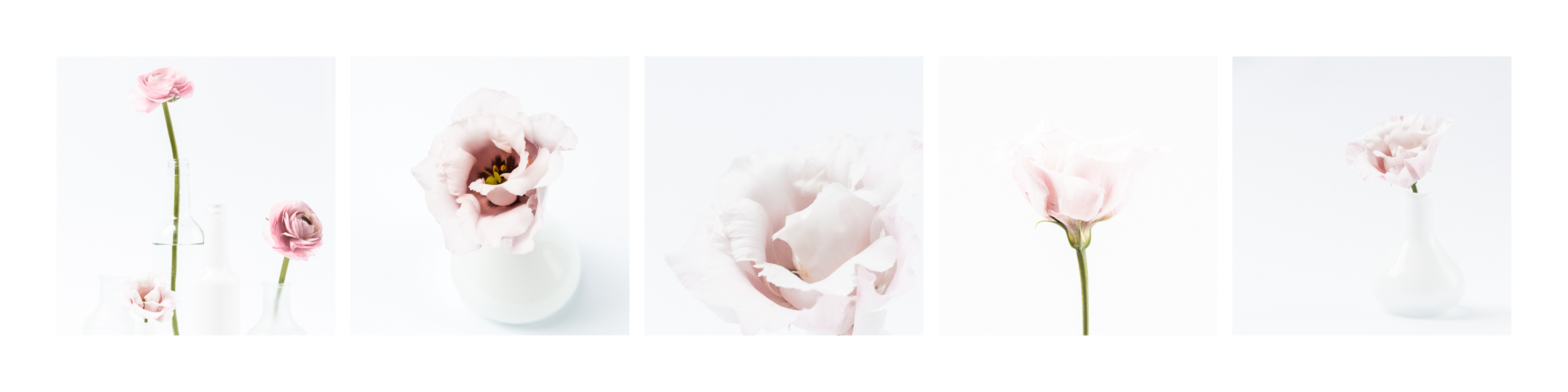 Overview image for a pink floral styled stock bundle